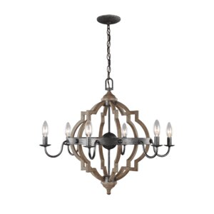 Donna 6-Light Candle-Style Chandelier
