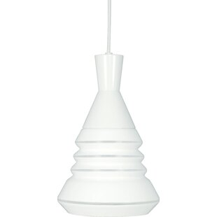 Prickett 1-Light Bell Pendant by Wrought Studio