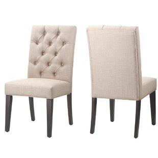 Gracie Oaks Wisniewski Upholstered Dining Chair (Set of 2)