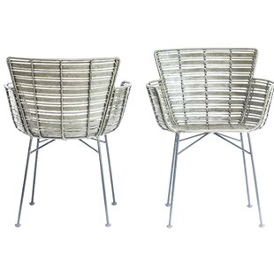 Rothwell Rattan Armchair by Wrought Studio