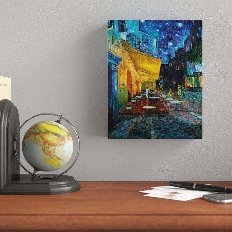 Tapestry Wall Hanging Couverture Home Art Van Gogh Cafe Terrace At Night YG