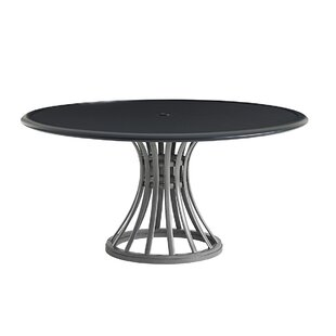 Del Mar Plastic/Resin Dining Table by Tom..