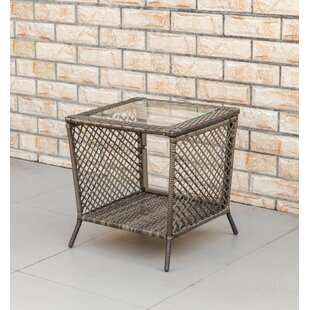 Richert Wicker Side Table