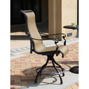 Bagwell Patio Counter Height Swivel Bar Stool (Set of 4) (Set of 4)