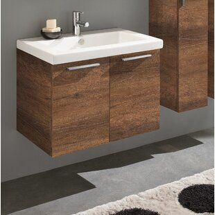 Mirando 28 Wall Mounted Single Bathroom Vanity Set by Orren Ellis