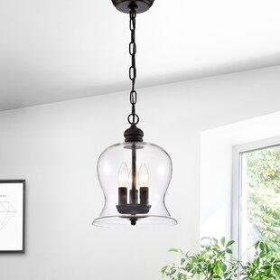 Shimizu 3-Light Bell Pendant