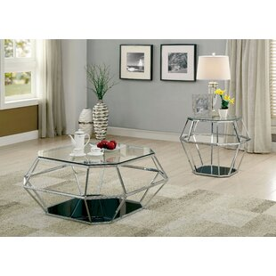 Aguiar 2 Piece Coffee Table Set by Everly Quinn Looking for