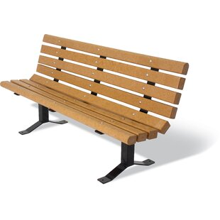 UltraSite Recycled Plastic Surface Mount Bench by Ultra Play Best Choices