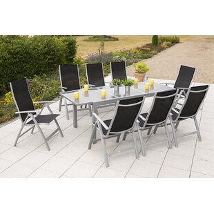 Vallee 8 Seater Dining Set By Sol 72 Outdoor