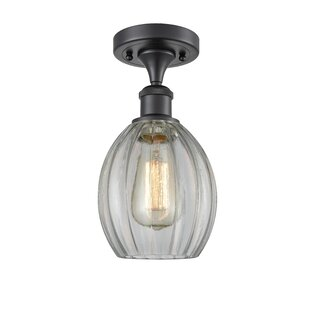Raylene 1-Light Semi Flush Mount by Ivy Bronx
