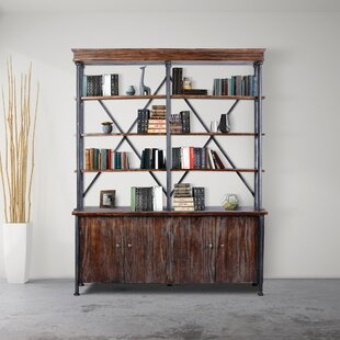 Corinne Industrial Library Bookcase by 17 Stories