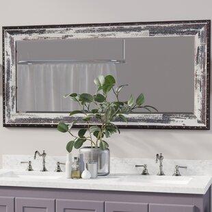 Beveled Ivory/Black Wall Mirror ByTrent Austin Design