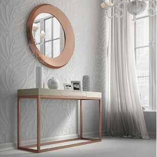 Review Rashad Console Table and Mirror Set By Brayden Studio