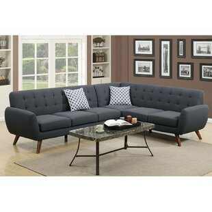 Rochon 76 Right Hand Facing Sectional by Corrigan Studio