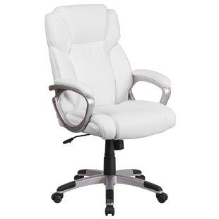 Ebern Designs Baltz Mid Back Swivel Executive Chair