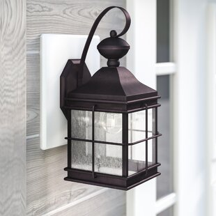 Three Posts Mcmullin 1-Light Outdoor Wall Lantern
