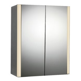 Affordable 27 x 33 Surface Mount Medicine Cabinet with LED Lighting By Rebrilliant