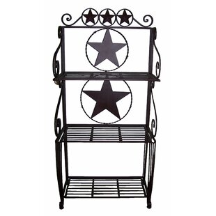 De Leon Collections Star Wrought Iron Braker's Rack