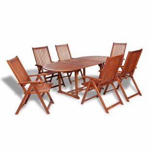Chan 6 Seater Dining Set By Sol 72 Outdoor