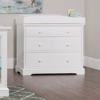 Stone Leigh Furniture Driftwood Park Changing Table Topper Reviews Wayfair