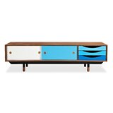 Solid Wood TV Stand for TVs up to 65 by Kardiel
