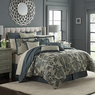 Everett 4 Piece Reversible Comforter Set by Waterford Bedding