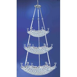 Classic Lighting Solitaire 57-Light Chandelier