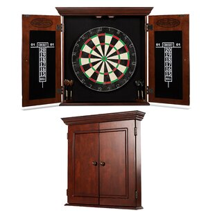Chatham Bristle Dartboard and Cabinet Set by Barrington Billiards Company