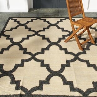 Barker Sand/Charcoal Indoor/Outdoor Area Rug