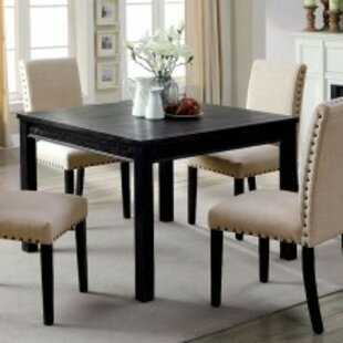 Pittard Rustic 5 Piece Solid Wood Dining Set