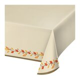 Thankful Basic Plastic Disposable Tablecloth (Set of 3)