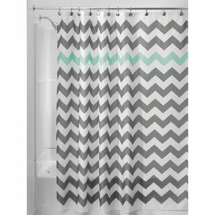 Grey Silver Shower Curtains Youll Love