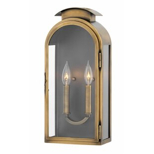 Find Rowley 2-Light Outdoor Flush Mount By Hinkley Lighting