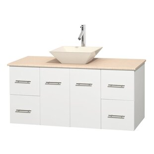 Affordable Price Centra 48 Single Bathroom Vanity Set ByWyndham Collection
