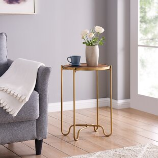 Munroe End Table by Wrought Studio