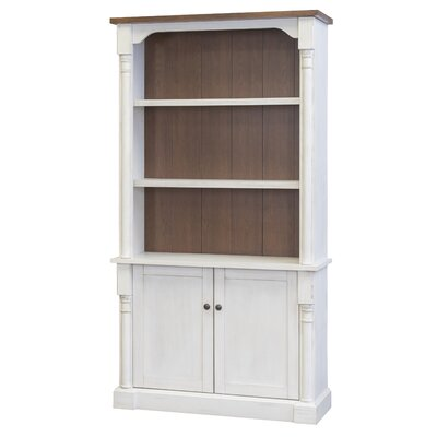 Chmura Bookcase with Lower Doors by August Grove