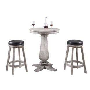 Avendano 3 Piece Pub Table Set Foundry Select