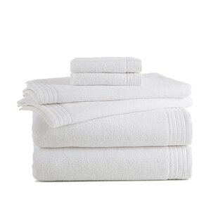 Sherlock Luxury 6 Piece Turkish Cotton Towel Set