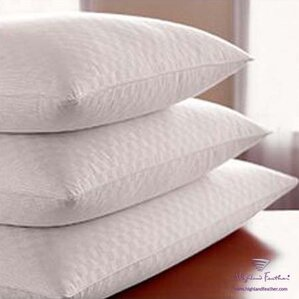 Damask Hutterite Goose - Level I 100% Down Pillow by Highland Feather