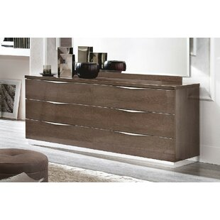 Brayden Studio Luther 6 Drawer Double Dresser