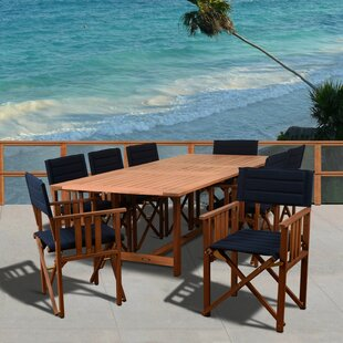 Rosecliff Heights Kelleher 9 Piece Dining Set