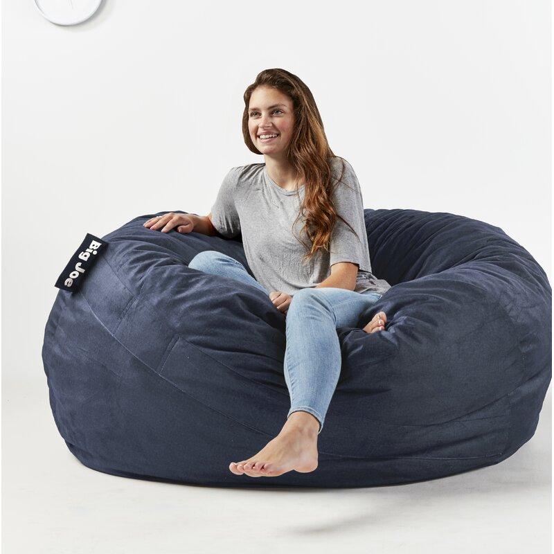 Superbe Fuf Big Joe King Bean Bag Chair