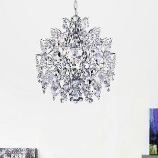Rosdorf Park Nolan 3-Light Crystal Chandelier