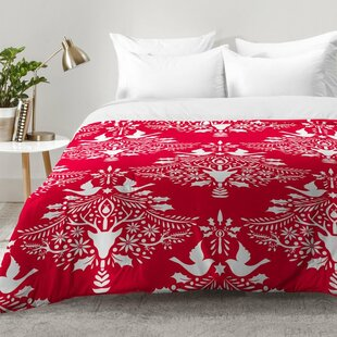 East Urban Home Christmas Paper Cutting Comforter Set