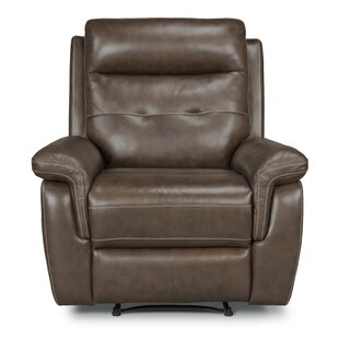 Sasheer Leather Power Recliner