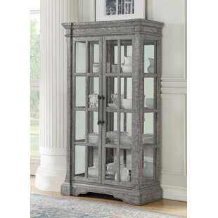 Candice Lighted Curio Cabinet by One Allium Way