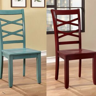 Quinones Upholstered Dining Chair (Set of 2) August Grove