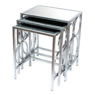 Teton Home 3 Piece Nesting Table Set