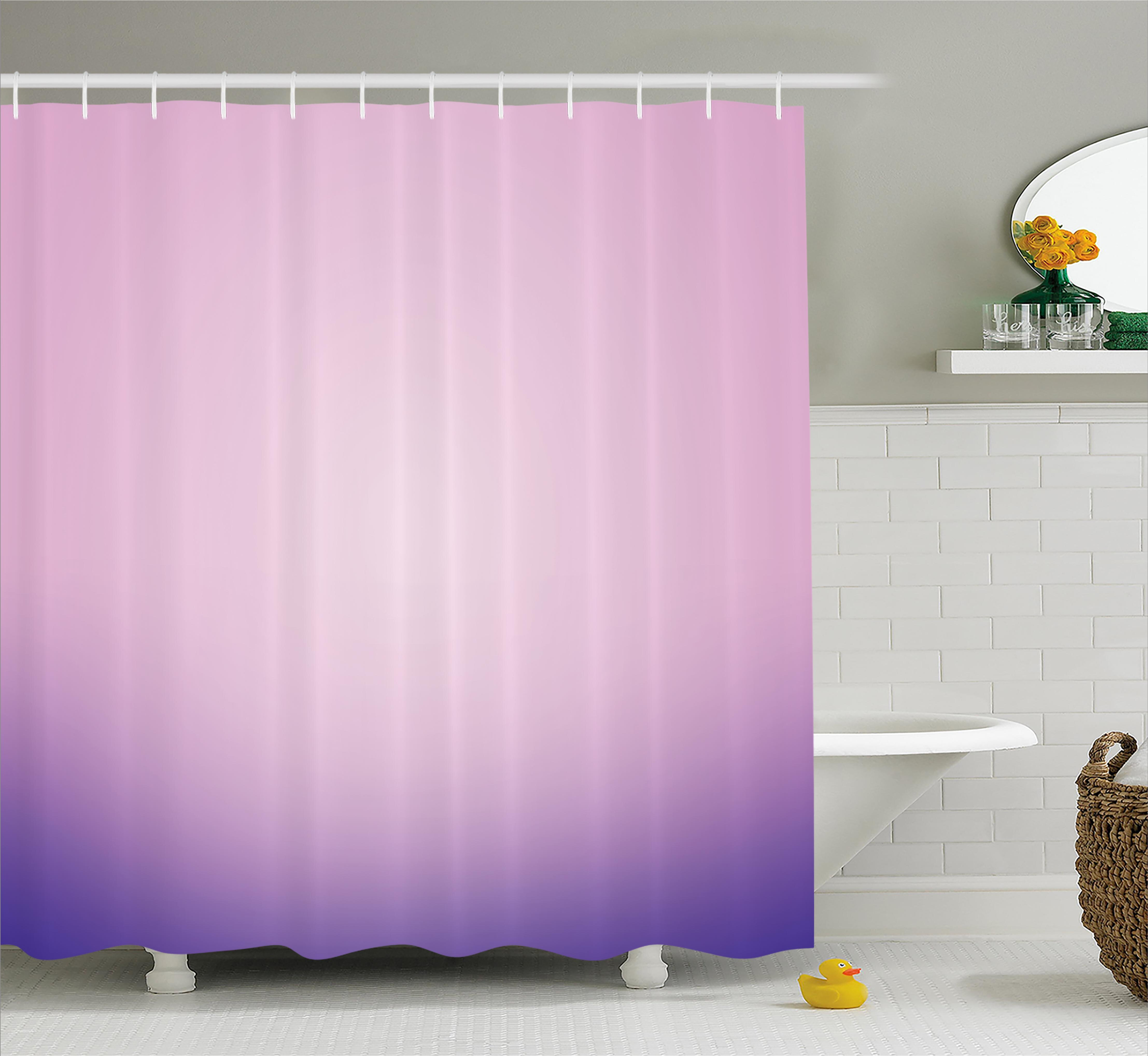 Harriet Bee Fred Pink And Purple Ombre Shower Curtain