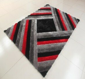 Best Danin Black/Gray Area Rug By Orren Ellis